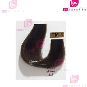 رنگ مو تاکوری سری رنگهای چند ترکیبی شماره TM3 ماسهای