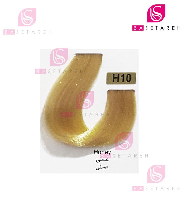 رنگ مو تاکوری سری عسلی شماره H10 عسلی