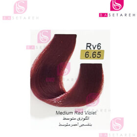 رنگ مو تاکوری سری شرابی شماره 6.65 انگوری متوسط