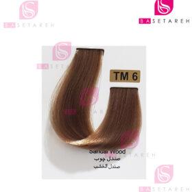 رنگ مو تاکوری سری رنگهای چند ترکیبی شماره TM6 صندل چوب